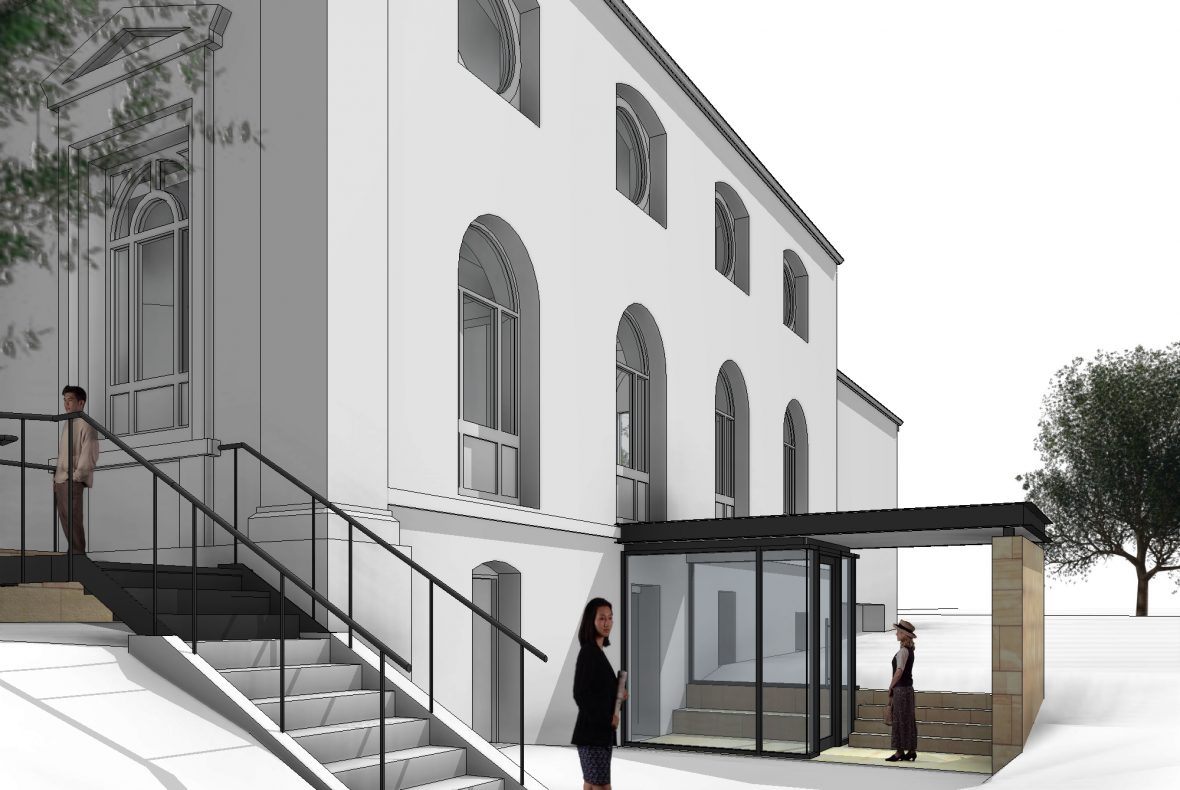 Artist's impression of the proposed West Extension at St Mark's Portobello